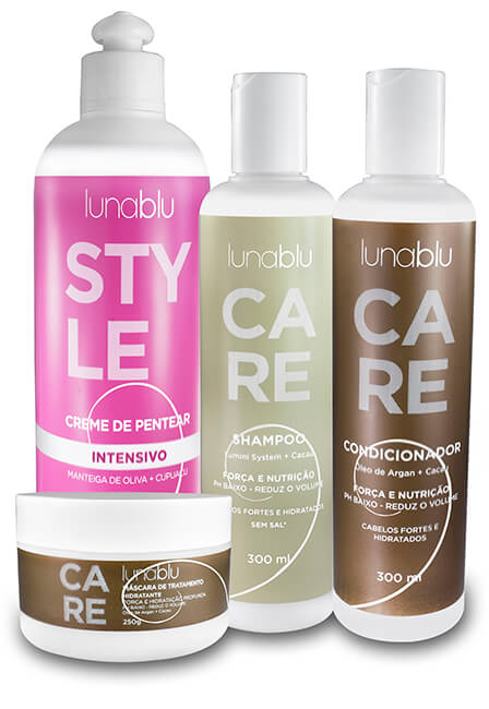 Kit Care + Creme Pentar Intensivo 500ml