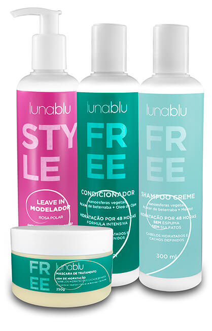 Kit Free com Leave In Modelador