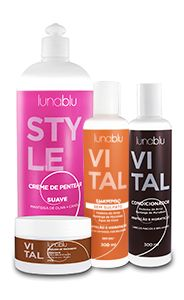 Kit Vital + Creme Pentear Suave 1000ml